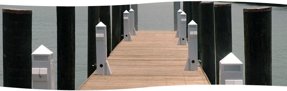 Power pedestals 45