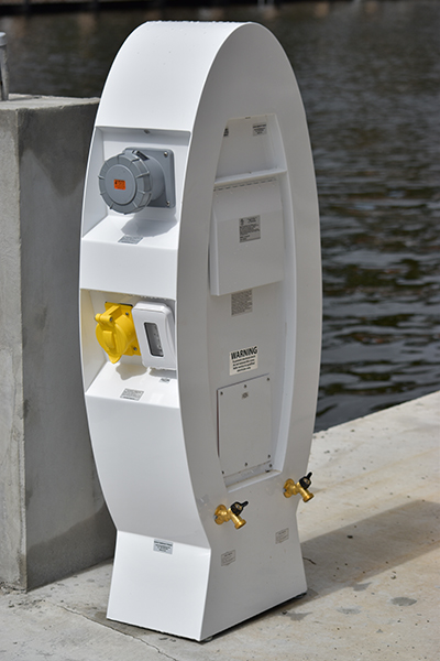 series fs solution pedestal parking power lot smart iplc